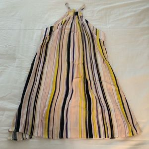 1. State Striped Dress in Pastel Colors